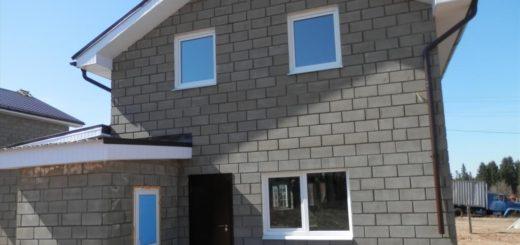 Дома из керамзитобетона и керамических блоков