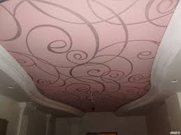 структура тканевого потолка