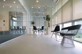Современные офисные стеклянные перегородки