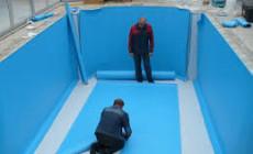 Обустройство гидроизоляции стационарного бассейна
