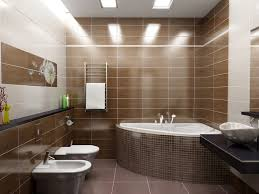 оформить большую ванную комнату