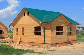 строительства дома из бруса