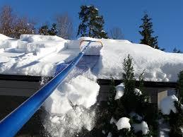 Для чего необходимо убирать снег с крыш