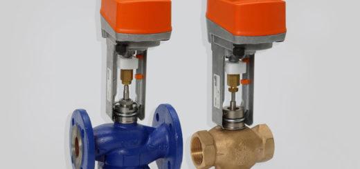 Трехходовые клапаны с электроприводом