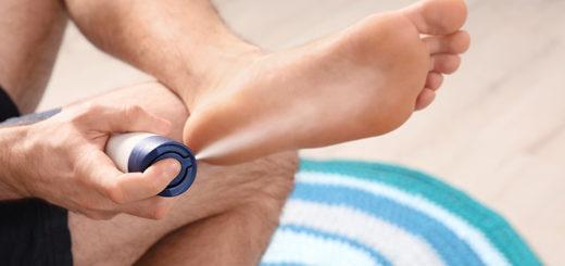 Домашние дезинфицирующие средства для удаления запаха ног